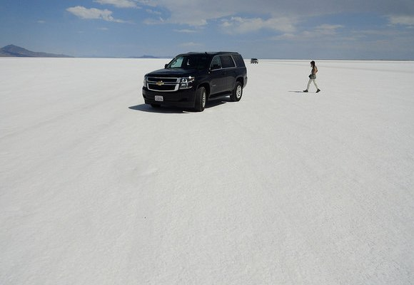 It is time to Leave! Bonneville Salt Flats, Utah