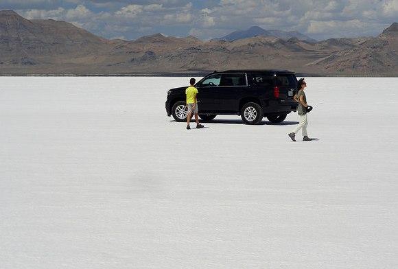 Escursione a Bonneville Salt Flats nello Utah