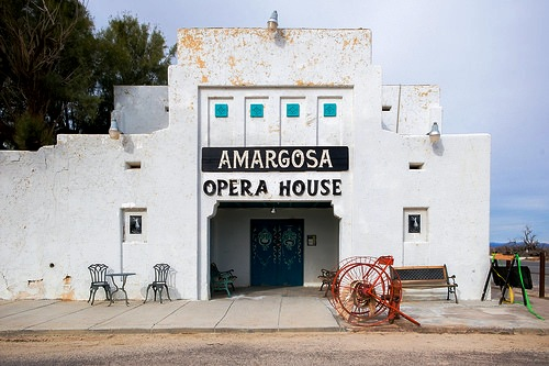 View of Amargosa Opera House Death Valley Junction in Nevada