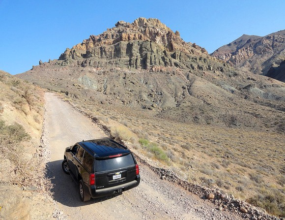 Approaching Red Pass, Titus Canyon Road, Death Valley National Park, California