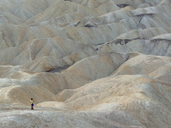 Badlands Loop Hike, Death Valley National Park, California