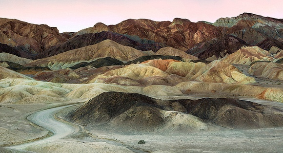 Twenty Mule Team Canyon, Death Valley National Park, California