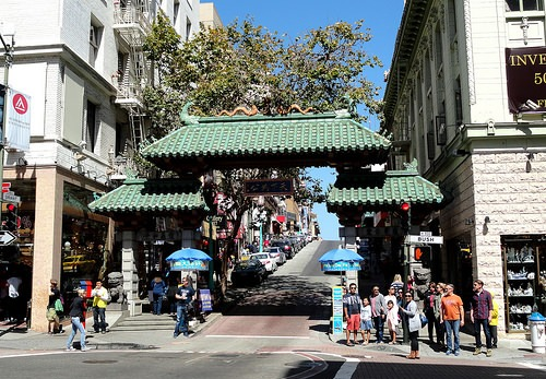 Dragon's Gate, Chinatown, San Francisco, California