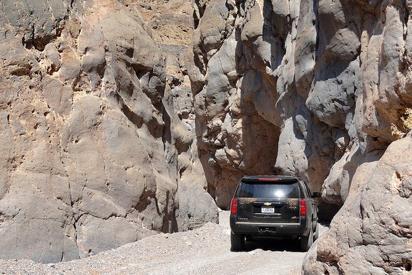 Guida all'Escursione in Auto al Titus Canyon nella Death Valley