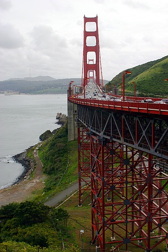 Golden Gate Bridge from Vista Point, San Francisco, California