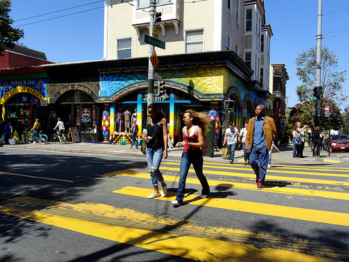 Haight Street, Haight-Ashbury District, San Francisco, California