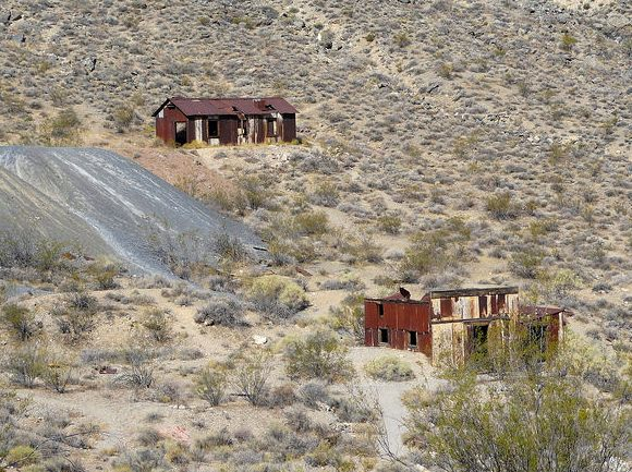 Leadfield Ghost Town, Titus Canyon Road, Death Valley National Park, California