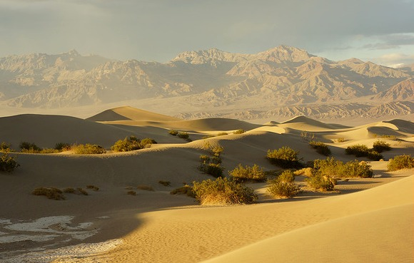 Mesquite Dunes near Stovepipe Wells, Death Valley National Park, California