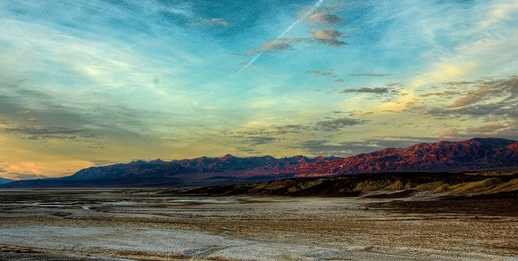 Near Furnace Creek, Death Valley National Park, California