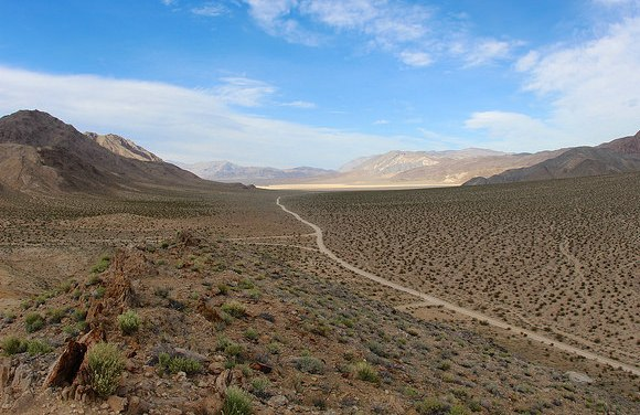 Racetrack Road, Death Valley National Park, California
