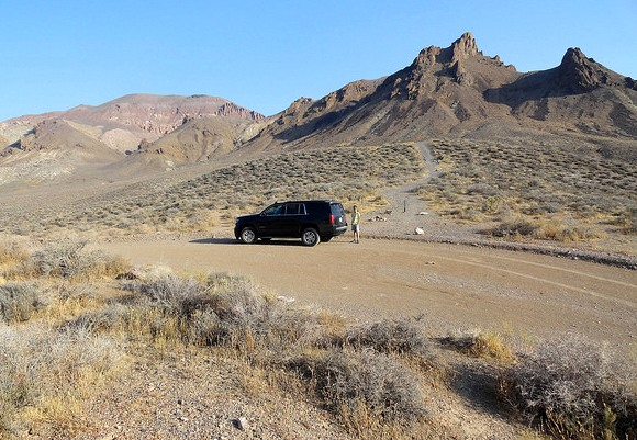 White Pass, Titus Canyon Road, Death Valley National Park, California