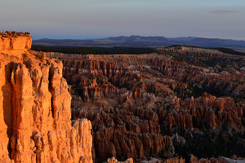 Alba a Bryce Canyon nello Utah
