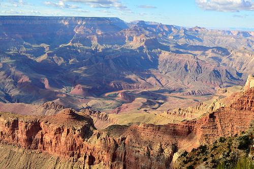 Panorama sul Grand Canyon dal South Rim