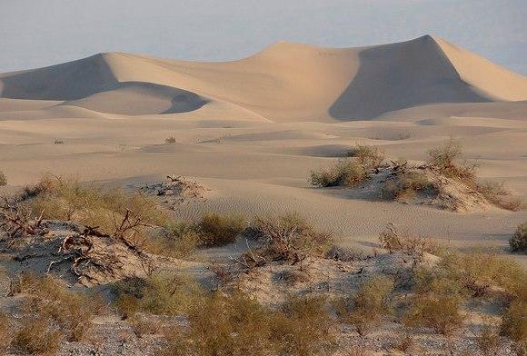 Escursione alle Dune di Mesquite nella Valle della Morte in California