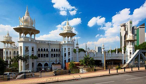 Old Railway Station in Kuala Lumpur, Malaysia