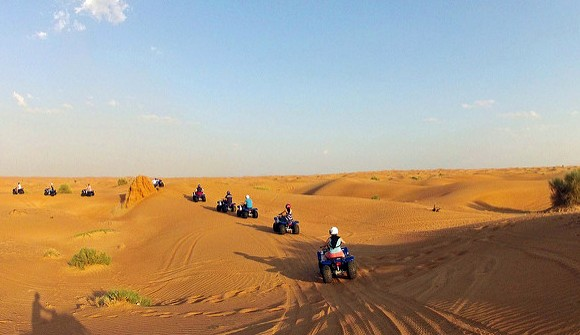 Quad Safari in Dubai Desert, UAE