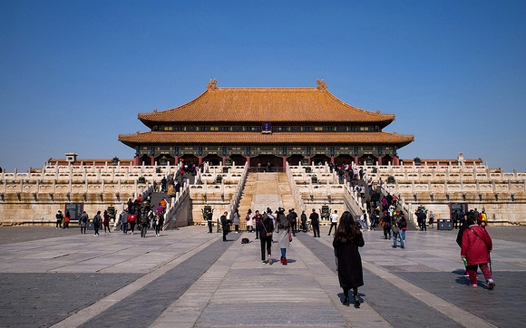 Sightseeing Group Tour to Forbidden City, Beijing, China