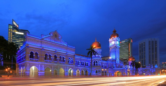 Sultan Abdul Samad Building in Merdeka Square, Kuala Lumpur, Malaysia