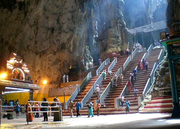 Visiting Batu Caves near Kuala Lumpur, Malaysia