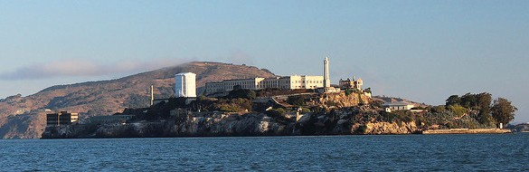 Tour to Alcatraz Island, San Francisco Bay, California