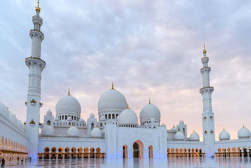 Guided Tour of Sheikh Zayed Grand Mosque in Abu Dhabi, United Arab Emirates
