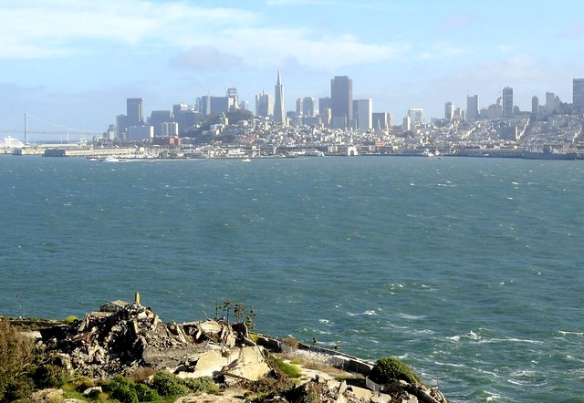 San Francisco from Alcatraz Island, California