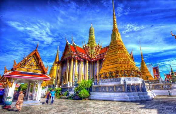 Visiting Grand Palace Complex, Bangkok, Thailand
