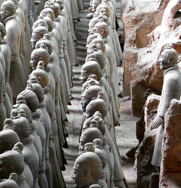 An impressive Sight! Terracotta Army Museum, Xian, China