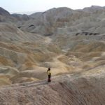 Death Valley, Escursione al Badlands Loop da Zabriskie Point