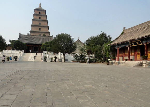 Big Wild Goose Pagoda, Xian, China