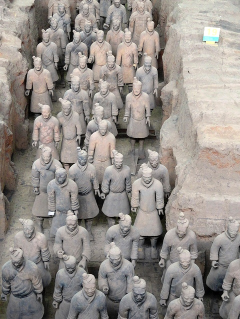 Main Hall, Terracotta Army Museum, Xian, China