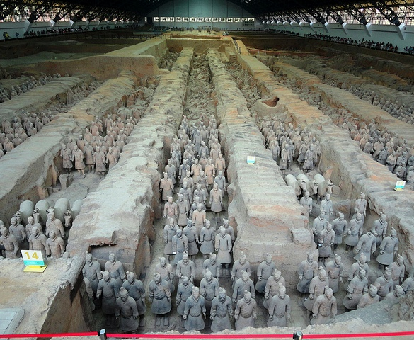 Terracotta Army Museum, Xian, China