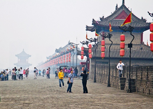 City Walls, Xian, China