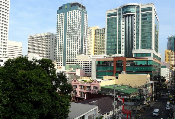 Adriatico Street and Pan Pacific Hotel, Malate, Manila, Philippines