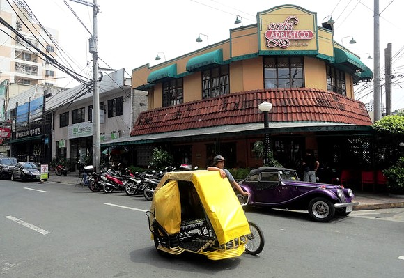 Adriatico Street near Remedios Circle, Malate, Manila, Philippines