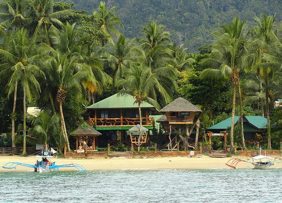 Ausan Beach Front Cottage, Port Barton, Palawan, Philippines