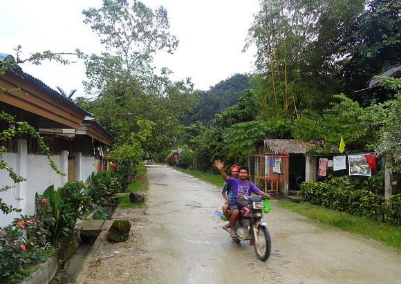 Backstreet, Port Barton, Palawan, Philippines