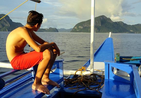 Island Hopping, Bacuit Bay, El Nido, Palawan, Philippines