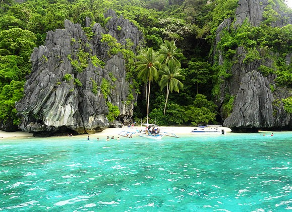 Beautiful Entalula Island, El Nido, Palawan, Philippines