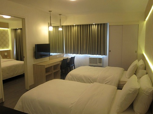 Family Room, The Charter House, Makati, Manila
