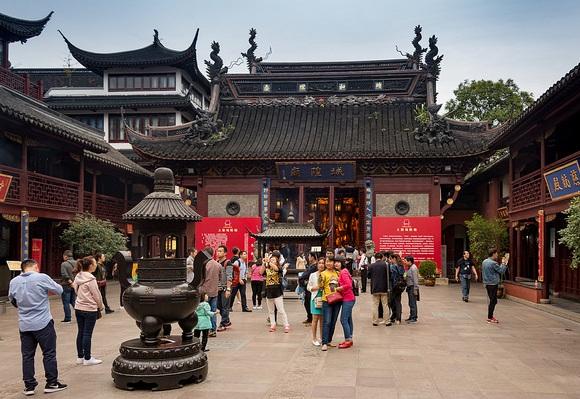 City God Temple, Yuyuan Garden, Shanghai