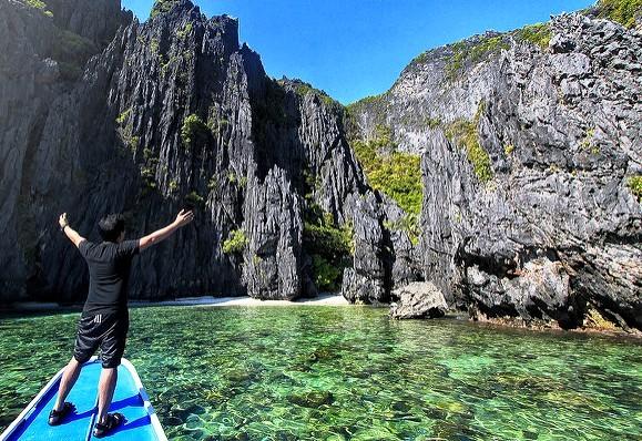El Nido Island Hopping, Bacuit Bay, Palawan, Philippines