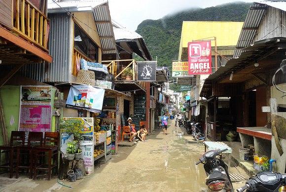 El Nido Street, Palawan, Philippines