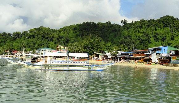 El Nido Village, Palawan, Philippines