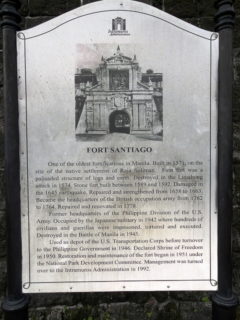 Fort Santiago, Intramuros, Manila, Philippines