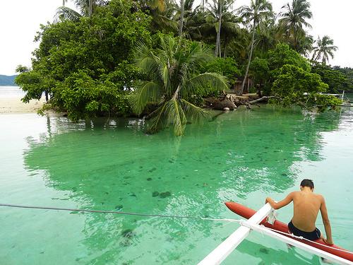 German Island, Port Barton Bay, Palawan, Philippines