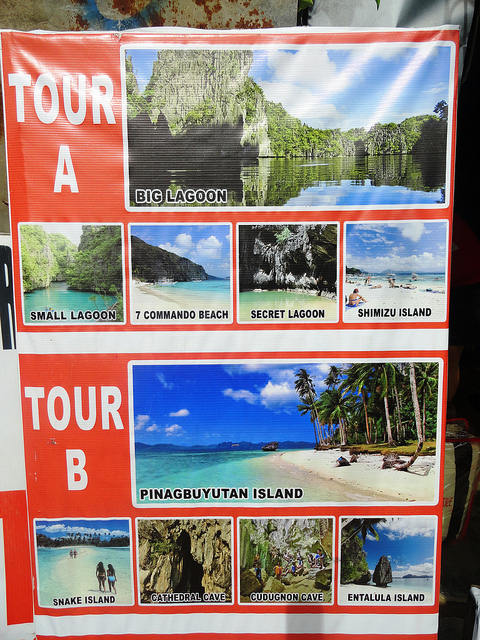 Island Hopping Tour A and Tour B, El Nido, Palawan, Philippines