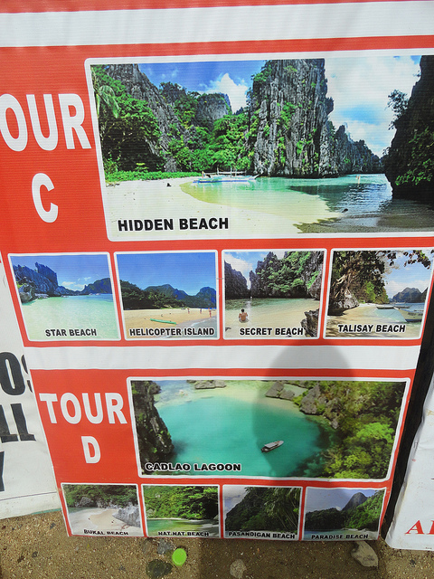 Island Hopping Tour C and Tour D, El Nido, Palawan, Philippines