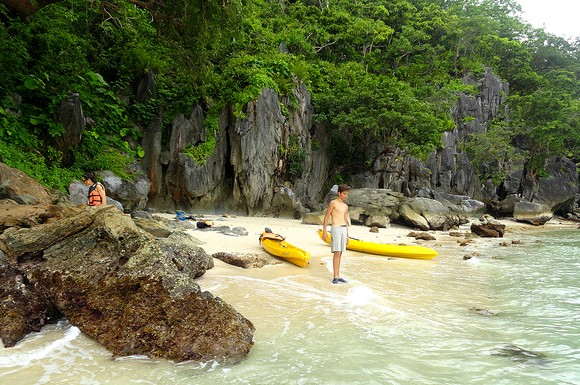 Kayak, El Nido, Palawan, Philippines