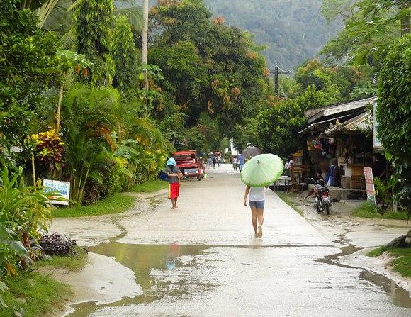 Main Street, Port Barton, Palawan, Philippines